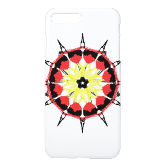 Abstract nice colour pattern iPhone 7 plus case