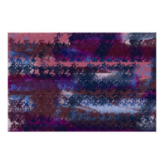 abstract night poster