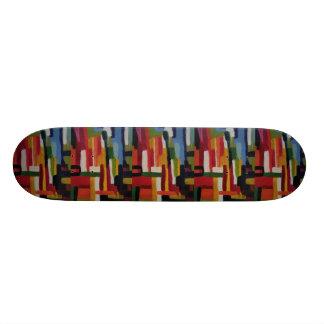 Abstract No. 5 Skateboard