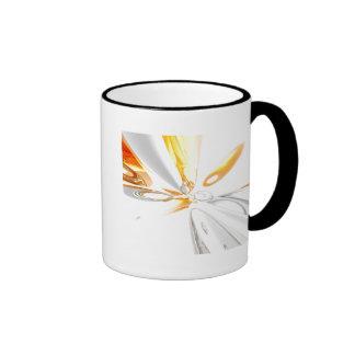 Abstract Num. 42 Ringer Coffee Mug