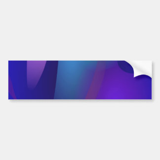 Abstract Objects in the Blue Room Bumper Sticker