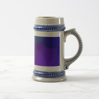 Abstract Objects in the Blue Room Mug
