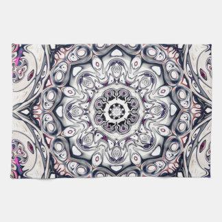 Abstract Octagonal Mandala Kitchen Towel