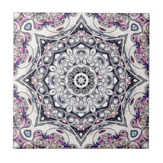Abstract Octagonal Mandala Tile