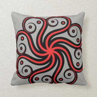Abstract Octopus Throw Pillow