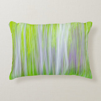 Abstract of Aspen Trees | Yakima River Trail, WA Accent Pillow
