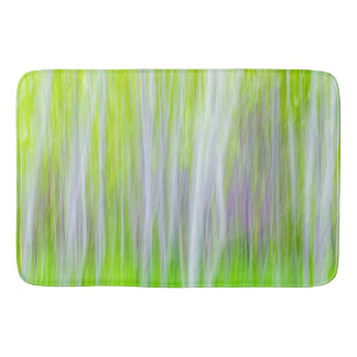Abstract of Aspen Trees | Yakima River Trail, WA Bath Mat