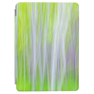 Abstract of Aspen Trees | Yakima River Trail, WA iPad Air Cover