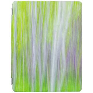 Abstract of Aspen Trees   Yakima River Trail, WA iPad Cover