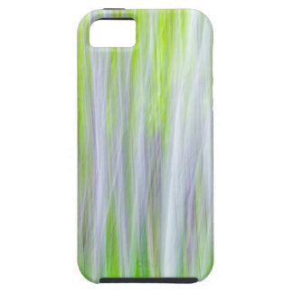 Abstract of Aspen Trees | Yakima River Trail, WA iPhone 5 Case