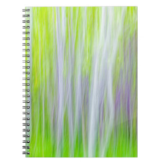Abstract of Aspen Trees | Yakima River Trail, WA Notebooks