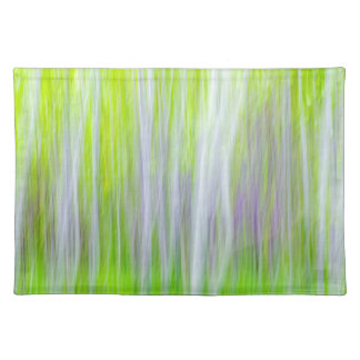 Abstract of Aspen Trees | Yakima River Trail, WA Placemat