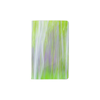 Abstract of Aspen Trees | Yakima River Trail, WA Pocket Moleskine Notebook