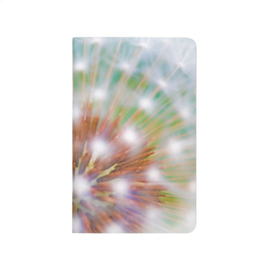 Abstract of dandelion seed head journals