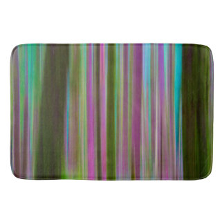 Abstract of Hoh Rain Forest at Dusk | Washington Bath Mat
