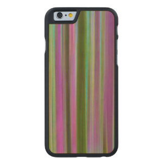 Abstract of Hoh Rain Forest at Dusk | Washington Carved Maple iPhone 6 Case