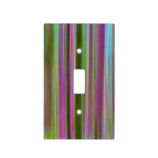 Abstract of Hoh Rain Forest at Dusk | Washington Light Switch Cover