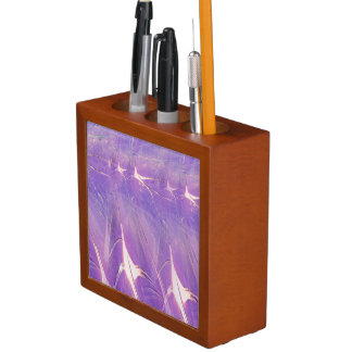Abstract Of Lights Desk Organizer