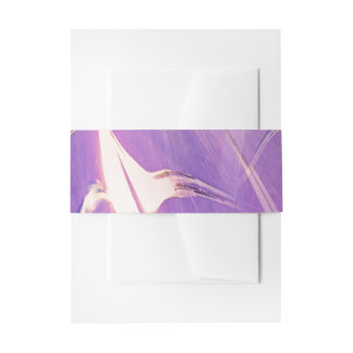 Abstract Of Lights Invitation Belly Band