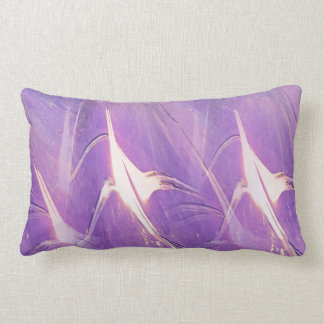 Abstract Of Lights Lumbar Pillow