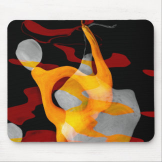 Abstract of Pear Mouse Pad