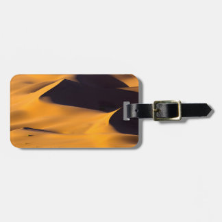 Abstract of sand dune luggage tag