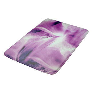 Abstract Of The Iris Bath Mat