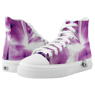 Abstract Of The Iris High Tops