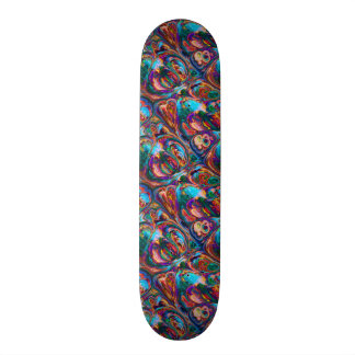 Abstract Oil Painting Inspired Skateboards