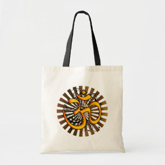 Abstract-om-3 Tote Bag