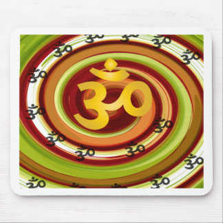 Abstract-om-5 Mouse Pad