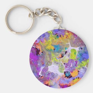 Abstract Opal Key Chains