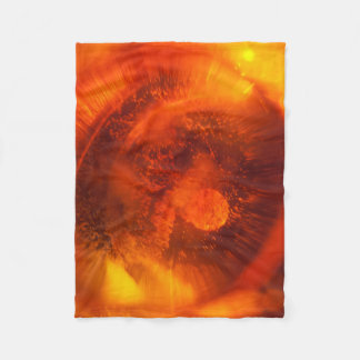 Abstract Orange Blanket