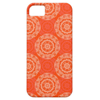 Abstract Orange iPhone 5 Case