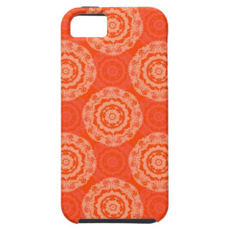Abstract Orange iPhone 5 Cover