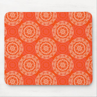 Abstract Orange Mouse Pad