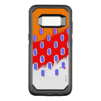Abstract Orange points OtterBox Commuter Samsung Galaxy S8 Case