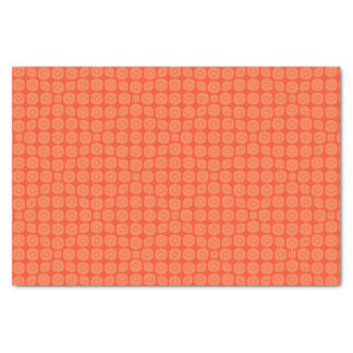 Abstract Orange Tissue Paper