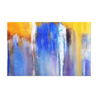 Abstract Organic Wrapped Canvas