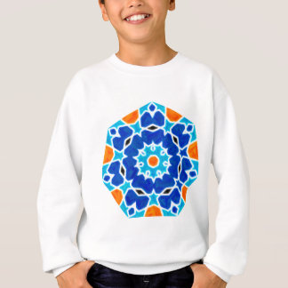 Abstract oriental Design Sweatshirt