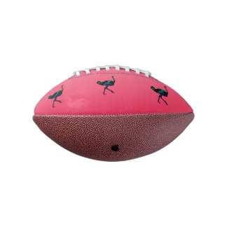 Abstract Ostrich Mini Football