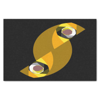 ABSTRACT OWL TISSUE PAPER