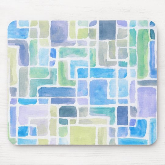 Abstract painted watercolor background. mouse pad