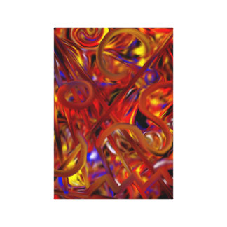 Abstract Painting 14 Canvas Print