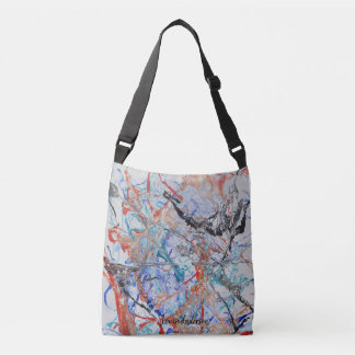 Abstract painting bag