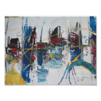 Abstract painting by s.b. Eazle Photo