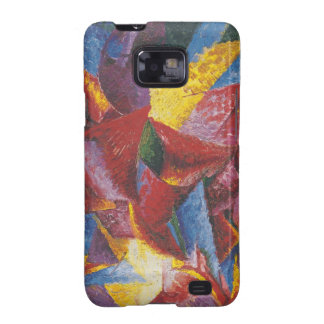 Abstract painting by Umberto Boccioni Samsung Galaxy S2 Cases