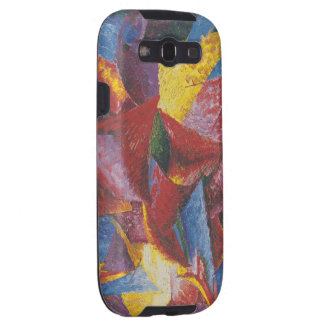 Abstract painting by Umberto Boccioni Galaxy S3 Covers