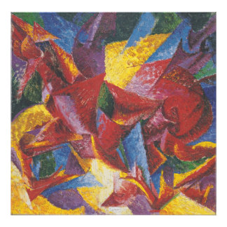 Abstract painting by Umberto Boccioni Photo Print