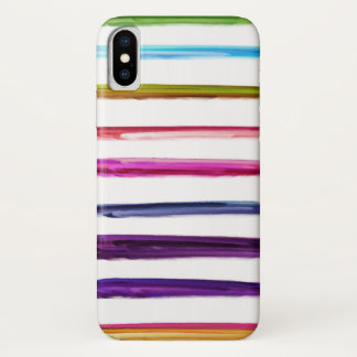 Abstract Painting | Colorful Paint Brush Strokes Case-Mate iPhone Case